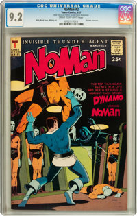 NoMan #2 (Tower, 1967) CGC NM- 9.2 Cream to off-white pages