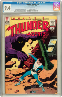 T.H.U.N.D.E.R. Agents #10 (Tower, 1966) CGC NM 9.4 Cream to off-white pages