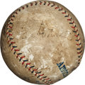 Autographs:Baseballs, Late 1920's Babe Ruth & Ty Cobb Signed Baseball....