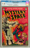Golden Age (1938-1955):Science Fiction, Mystery in Space #4 (DC, 1951) CGC FN/VF 7.0 Cream to off-whitepages....