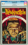 Silver Age (1956-1969):Horror, Movie Classics: Frankenstein #nn (Dell, 1963) CGC VF+ 8.5 Off-whiteto white pages....