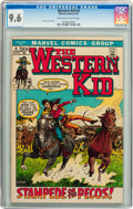 Bronze Age (1970-1979):Western, Western Kid #4 (Marvel, 1972) CGC NM+ 9.6 Off-white to white pages....