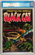 Golden Age (1938-1955):Horror, Black Cat Mystery #47 Northford pedigree (Harvey, 1953) CGC NM- 9.2Cream to off-white pages....