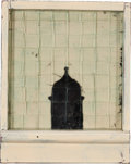 Post-War & Contemporary:Contemporary, FROM THE ESTATE OF DR. EDMUND P. PILLSBURY. JANET TYSON (American,20th Century). Tower View VI, 1994. Mixed media wit...