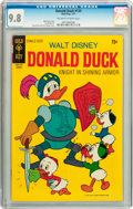 Bronze Age (1970-1979):Cartoon Character, Donald Duck #135 (Gold Key, 1971) CGC NM/MT 9.8 Off-white to whitepages....