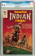 Bronze Age (1970-1979):Western, Famous Indian Tribes #2 (Dell, 1972) CGC NM+ 9.6 Off-white to white pages....