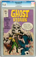 Bronze Age (1970-1979):Horror, Ghost Stories #31 (Dell, 1972) CGC NM/MT 9.8 Off-white to whitepages....