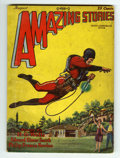 Pulps:Science Fiction, Amazing Stories V3#5 (Ziff-Davis, 1928) Condition: VG....