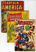 Golden Age (1938-1955):Miscellaneous, Comic Books - Assorted Golden and Silver Age Superhero Comics Group (Timely/Marvel and DC, 1943-63).... (Total: 3 Comic Books)