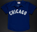 Baseball Collectibles:Uniforms, 1979 Randy Scarbery Game Worn White Sox Jersey....