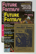 Magazines:Miscellaneous, Miscellaneous Sci-Fi Magazines Group (Various Publishers,1930s-80s).... (Total: 15 Comic Books)
