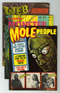 Magazines:Horror, Miscellaneous Horror/Monster Magazines Group (Various Publishers,1960s-70s) Condition: Average FN+.... (Total: 26 Comic Books)