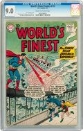 Silver Age (1956-1969):Superhero, World's Finest Comics #115 (DC, 1961) CGC VF/NM 9.0 Cream to off-white pages....