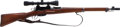 Long Guns:Bolt Action, Schmidt Rubin M31 Bolt Action Rifle with Telescopic Sight....
