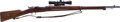 Long Guns:Bolt Action, Swedish Mauser Model 1896 Bolt Action Rifle....