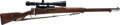 Long Guns:Bolt Action, Mauser Bolt Action Rifle....