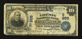 National Bank Notes:Pennsylvania, Clearfield, PA - $10 1902 Date Back Fr. 616 The County NB Ch. # (E)855. ...