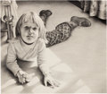 Post-War & Contemporary:Contemporary, FROM THE ESTATE OF DR. EDMUND P. PILLSBURY. MAL LUBER (American, b.1938). Portrait of Christine Pillsbury as a Child,...