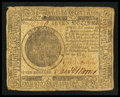 Colonial Notes:Continental Congress Issues, Continental Currency November 29, 1775 $7 Very Good-Fine.. ...