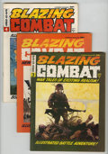 Magazines:Miscellaneous, Blazing Combat #2-4 Group (Warren, 1965-66) Condition: AverageFN/VF.... (Total: 3 Comic Books)