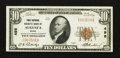 National Bank Notes:Maine, Augusta, ME - $10 1929 Ty. 1 First National Granite Bank Ch. # 498....
