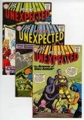 Silver Age (1956-1969):Horror, Tales of the Unexpected Group (DC, 1962-65).... (Total: 9 ComicBooks)