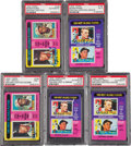 Baseball Cards:Lots, Signed 1975 Topps Roger Maris MVP Cards Collection (5). ...