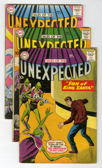 Tales of the Unexpected Group (DC, 1958-63).... (Total: 13 Comic Books)