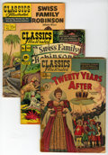 Silver Age (1956-1969):Classics Illustrated, Classics Illustrated Box Lot - Various Editions (Gilberton, 1960s)Condition: Average GD/VG.... (Total: 2 Box Lots)