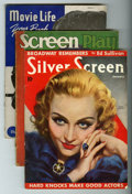 Memorabilia:Movie-Related, Movie Related 1930s Magazine Group (Various Publishers, 1930s)....(Total: 17 Comic Books)