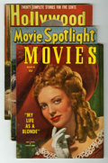 Memorabilia:Movie-Related, Movie Related 1940s Magazines Group (Various Publishers, 1940s)....(Total: 25 Comic Books)