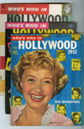 Memorabilia:Movie-Related, Who's Who in Hollywood Group (Dell, 1951-67).... (Total: 14 ComicBooks)