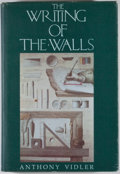 Books:First Editions, Anthony Vidler. The Writing of the Walls, Architectural Theoryin the Late Enlightenment. Princeton: Princeton Archi...