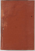 Books:First Editions, Will Tucker. Not All Ashes. Dallas: Southwest, [1941]. Firstedition, first printing. Octavo. Publisher's binding wi...