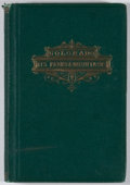 Books:First Editions, Samuel Bowles. A Summer Vacation In the Parks and Mountains ofColorado. Springfield: Bowles, 1869. First edition. O...