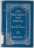 Books:First Editions, William Devere. Jim Marshall's New Pianner and Other WesternStories. New York: M. Witmark and Sons, 1897. First edi...