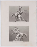 Antiques:Posters & Prints, Lot of 15 Steel Engravings Depicting Sculpture Displayed at theGreat Exhibition of 1851....