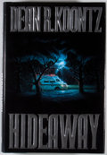 Books:Signed Editions, Dean R. Koontz. INSCRIBED. Hideaway. New York: Putnam, [1992]. First edition, first printing. Inscribed by Koontz ...