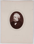 Antiques:Posters & Prints, Lot of 6 Antique Photographic Portraits of English Men of Mark....