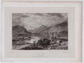 Antiques:Posters & Prints, Lot of 5 Antique Plates of Scottish Lochs....