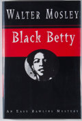 Books:Signed Editions, Walter Mosley. INSCRIBED. Black Betty. New York: Norton, [1994]. First edition, first printing. Inscribed by Mosle...