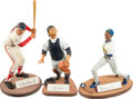 "Baseball Collectibles:Hartland Statues, Baseball Legends Signed ""Salvino"" Statues Lot of 3...."