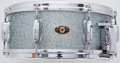 Musical Instruments:Drums & Percussion, Vintage Slingerland Aqua Sparkle Snare Drum ...