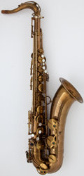 Musical Instruments:Horns & Wind Instruments, Circa 1964 Selmer Mark VI Brass Tenor Saxophone, Serial Number #M111585....