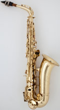 Musical Instruments:Horns & Wind Instruments, 1970 Conn Shooting Star Brass Alto Saxophone, Serial Number #N 95719....
