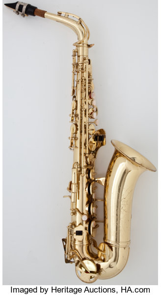 1970 Conn Shooting Star Brass Alto Saxophone, Serial Number #N | Lot