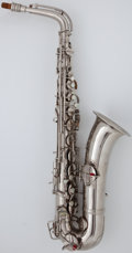 Musical Instruments:Horns & Wind Instruments, Circa 1927 Conn Chu Berry Silver Alto Saxophone, Serial Number #M193741....