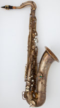 Musical Instruments:Horns & Wind Instruments, Circa 1926 Conn Chu Berry Brass Tenor Saxophone, Serial Number #M178245....