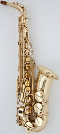Musical Instruments:Horns & Wind Instruments, Recent Selmer AS600 Brass Alto Saxophone, Serial Number #21603....