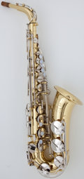 Musical Instruments:Horns & Wind Instruments, Recent Yamaha YAS-200AD Brass Alto Saxophone, Serial Number #C01021....